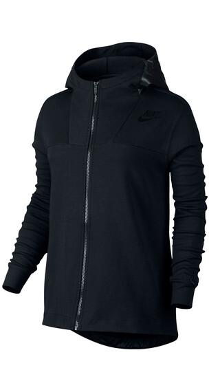 Nike Advance 15 Cape - Camiseta Running Mujer - negro